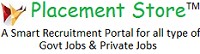 Free Job Alert, Results, Admit Card & Study Material – Placement Store